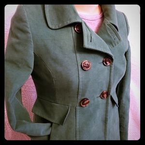 Jackets & Blazers - Gorgeous Green Pea Coat